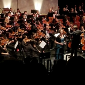 Me performing with the Raleigh Civic Symphony (Nov 2019)