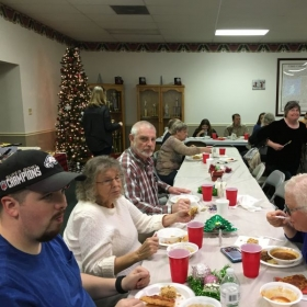 Recent Deaf event, White Elephant Party