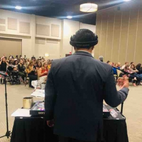Performing at an expo!