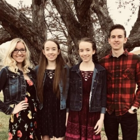 My siblings and I