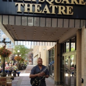 """At Park Square Theater playing for """"Marie and Rosetta"""""""