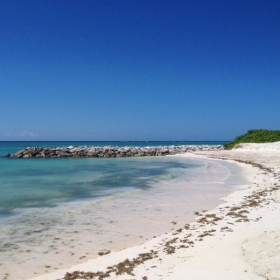 One of the beautiful beaches found in Dominican Republic