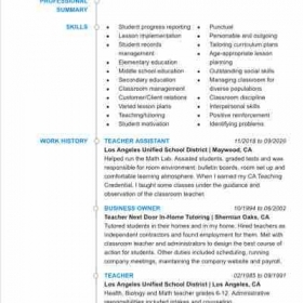Page 1 of resume. Page 2 is below. Clearer image to be uploaded soon.