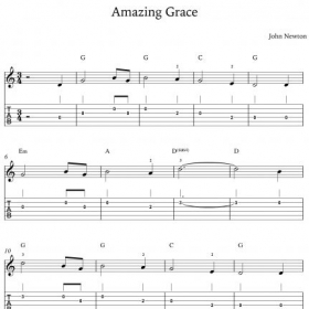 Sample PDF file for songs that we learn in the lessons.