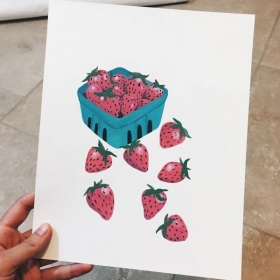Strawberries.