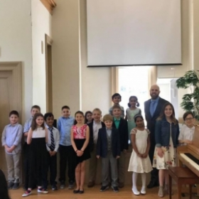 The stars of the 2019 piano recital (and myself).