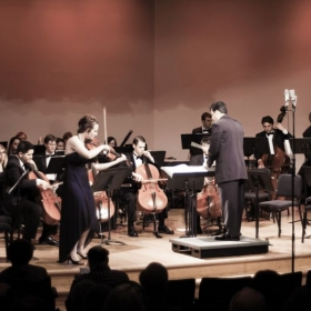 "Live concerto performance, 2010, ""Der Schwanendreher"" by Paul Hindemith