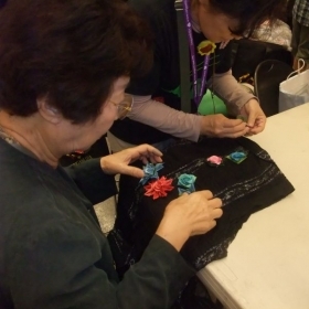Origami class for adults