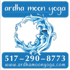 Lettering design I made for a local yoga studio in Holt