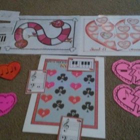Valentine's Games are tons of fun.