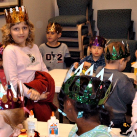 """Happy Princes and Princesses of P.O.W.E.R.* from Tonja's """"7 Ps"""" workshop.  *(Purposeful Operations With Eternal Rewards)"""