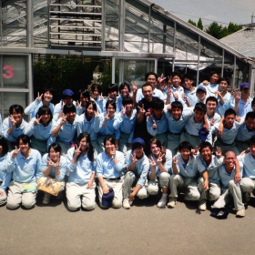 My high school class as a Rotary Youth Ambassador in Iyo, Ehime Japan.
