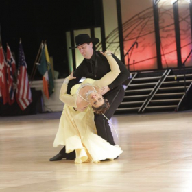 Here we are performing our Waltz.