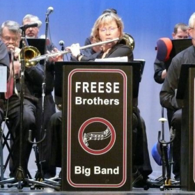 A bit of flute action with the Freese Brothers Big Band!
