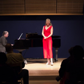 Recital at the National Opera Center in New York