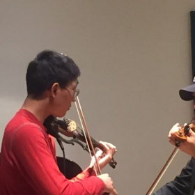 Master class at Peabody institute, string department