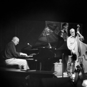 My trio playing at the Jazz Corner in Hilton Head, SC