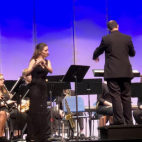 Faculty Soloist- Chaminade Concertino with MSJU October 2018