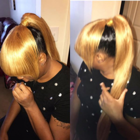 Quick and easy ponytail! Learn this style now!