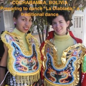 Every traveler should participate in cultural events, not just  observe.