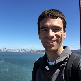 In San Francisco from the Golden Gate Bridge!