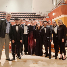 With the University of Georgia cello studio after one of our UGASO concerts