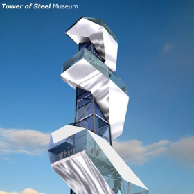 Tower of Steel Concept; Programs used - Rhino, 3D Studio Max, Adobe Photoshop