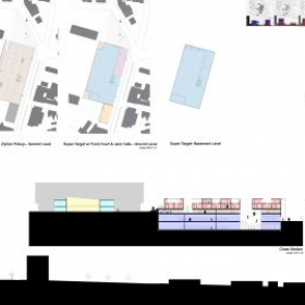 Newark Housing Project Proposal;  Programs used - AutoCAD, Photoshop