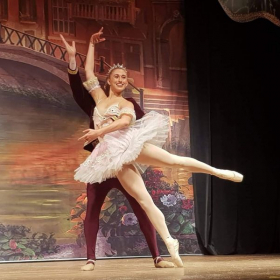 Sugarplum Fairy in the Nutcracker