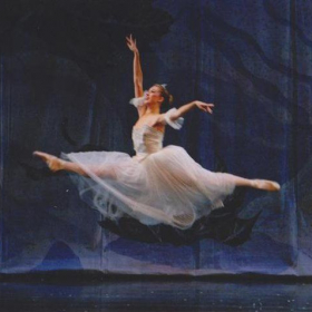 Performing as Snow Queen, 2009