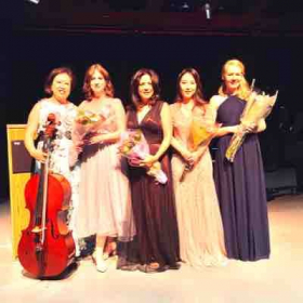 "Concert ""Music of Female Composers"" at Winchester Theater. 3.6.2020"