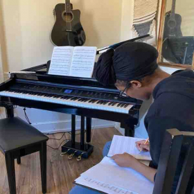 Music Theory - composition writing