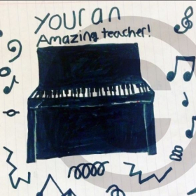 Testimonial from my 10 year old piano student