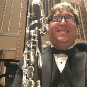 Bass Clarinet in Severance Hall in Cleveland, Ohio.