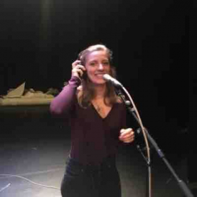 Singing vocals for the Fiddler on the Roof cast recording!