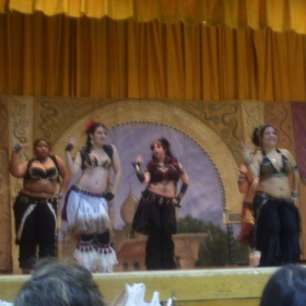performing with Black Silk Road, directed by Mae the Bellydancer