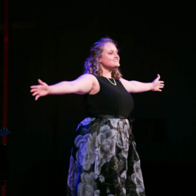Performing at Canadian Vocal Arts Institute 2019