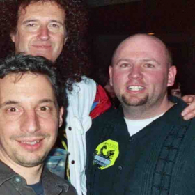 Doing a Benefit with Brian May