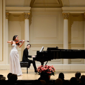 My 1st time playing at Carnegie!