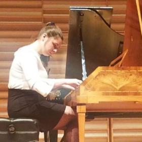I was lucky enough to perform Mozart on an actual Mozart fortepiano! What a special experience.