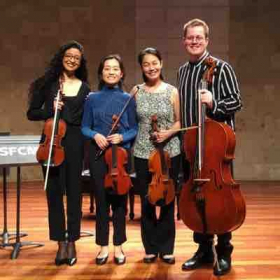 After a performance in the Sol Joseph Recital hall at SFCM.