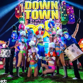 Performing with Street Drum Corps at Electric Daisy Carnival May 2019