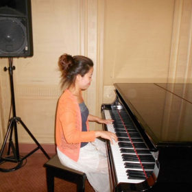 I believe that learning math is like playing piano or other musical instrument.