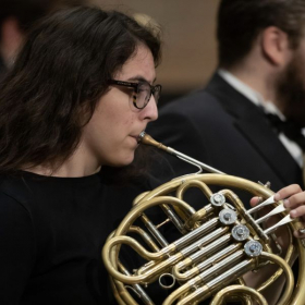 Performance with the UCF Symphony Orchestra in February 2020.