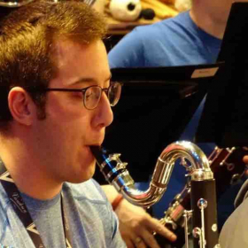 This was taken during one of the many rehearsals for the Troy University Symphony Band.