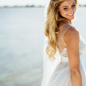 Beautiful Beach Bride!