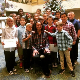 A Christmas recital at The Fountains At Sea Bluffs retirement community in beautiful Dana Point, California!