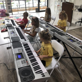 Group piano and singing lessons