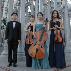 Colburn Quartet at LACMA