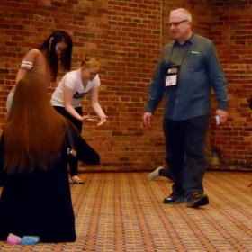 Actor's Workshop at the Georgia State Thespian Festival.